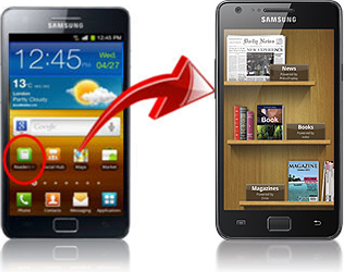 samsung readers hub